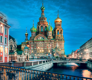 Moscow and Saint Petersburg Package