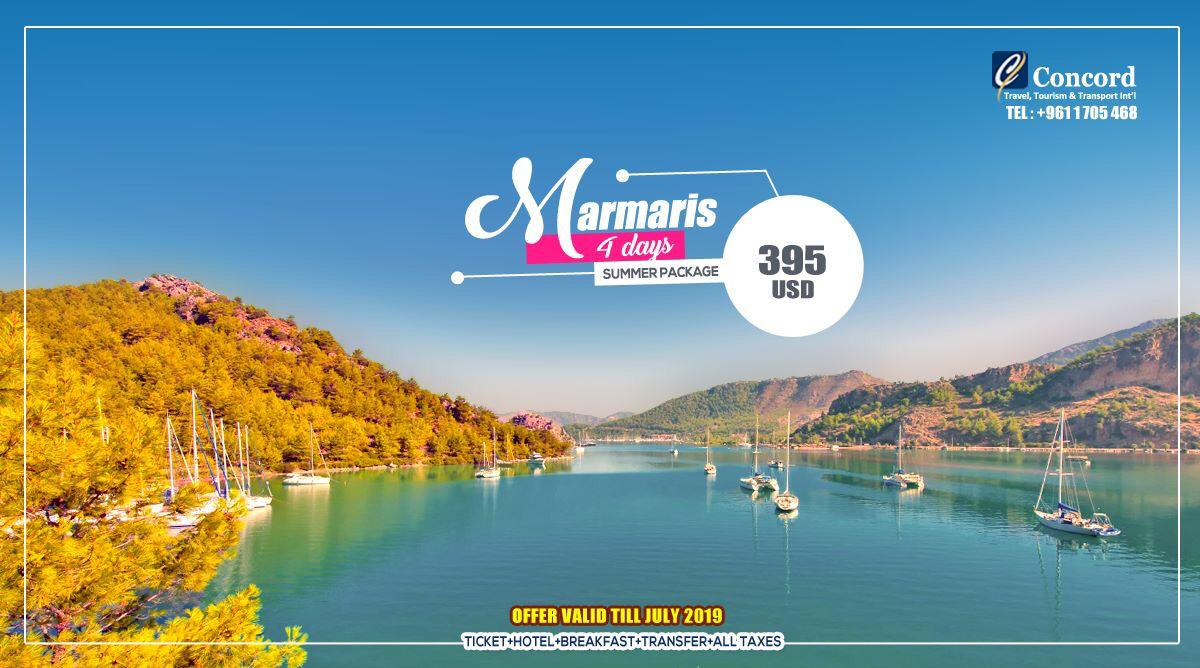 Marmaris July Package